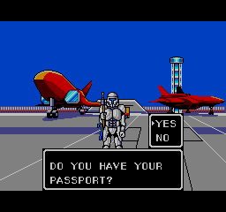 You do actually have to apply for a passport to visit the other planets.